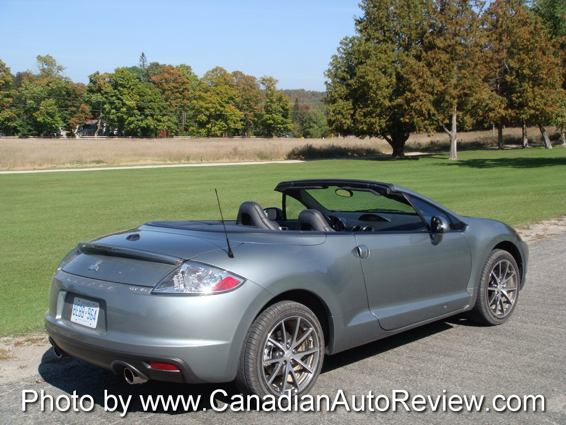 Canadian Auto Review 2009 Mitsubishi Eclipse Gt Photos