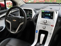 2014 Chevrolet Volt Red dashboard