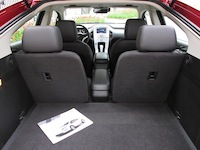 2014 Chevrolet Volt rear seat view