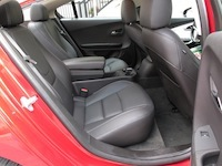 2014 Chevrolet Volt rear seats