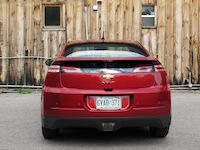 2014 Chevrolet Volt Red rear