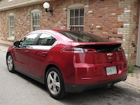 2014 Chevrolet Volt Red