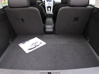 2014 Chevrolet Volt trunk cargo space