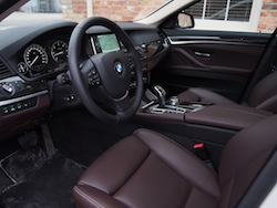 2014 寶馬 BMW 535d xDrive Metallic White interior comfort seat legroom front