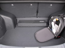 2015 Nissan Leaf trunk cargo space