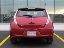 2015 Nissan Leaf Red rear
