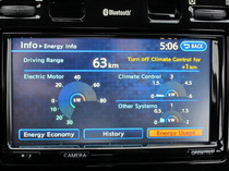 2015 Nissan Leaf low charge display