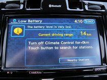 2015 Nissan Leaf charge mode display