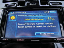 2015 Nissan Leaf Screen