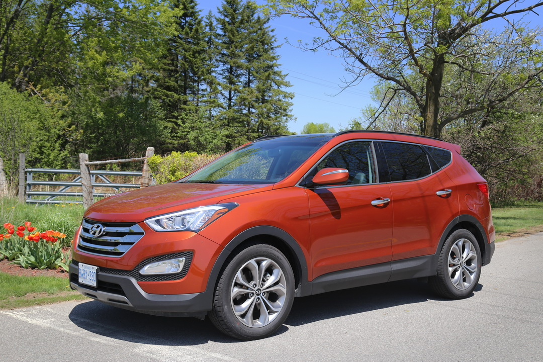 review 2013 hyundai santa fe sport the truth about cars autos post. Black Bedroom Furniture Sets. Home Design Ideas