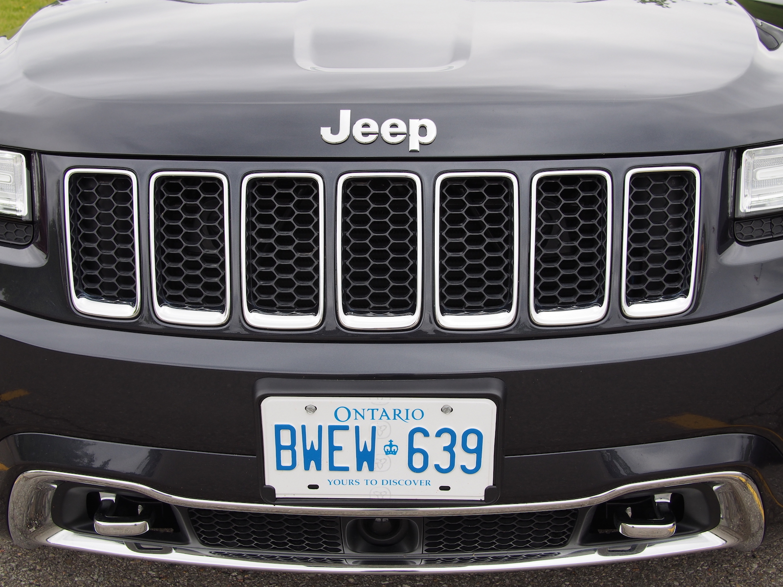 chineseautoreview 2015 jeep grand cherokee overland. Black Bedroom Furniture Sets. Home Design Ideas