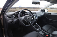 2015 volkswagen jetta tdi black orange interior