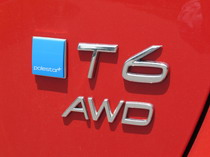 2015 Volvo V60 T6 R-Design badge